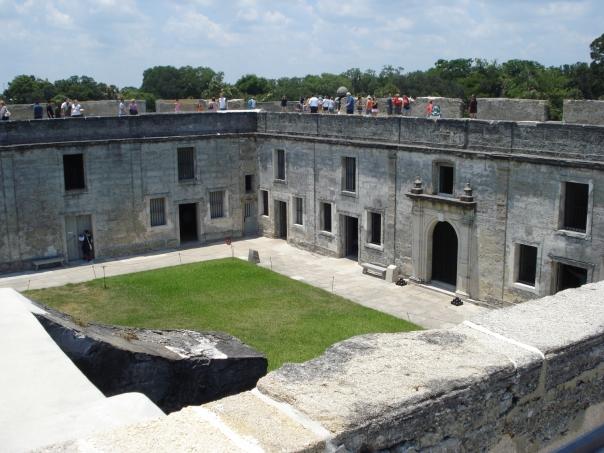 castillo de san marcos fort