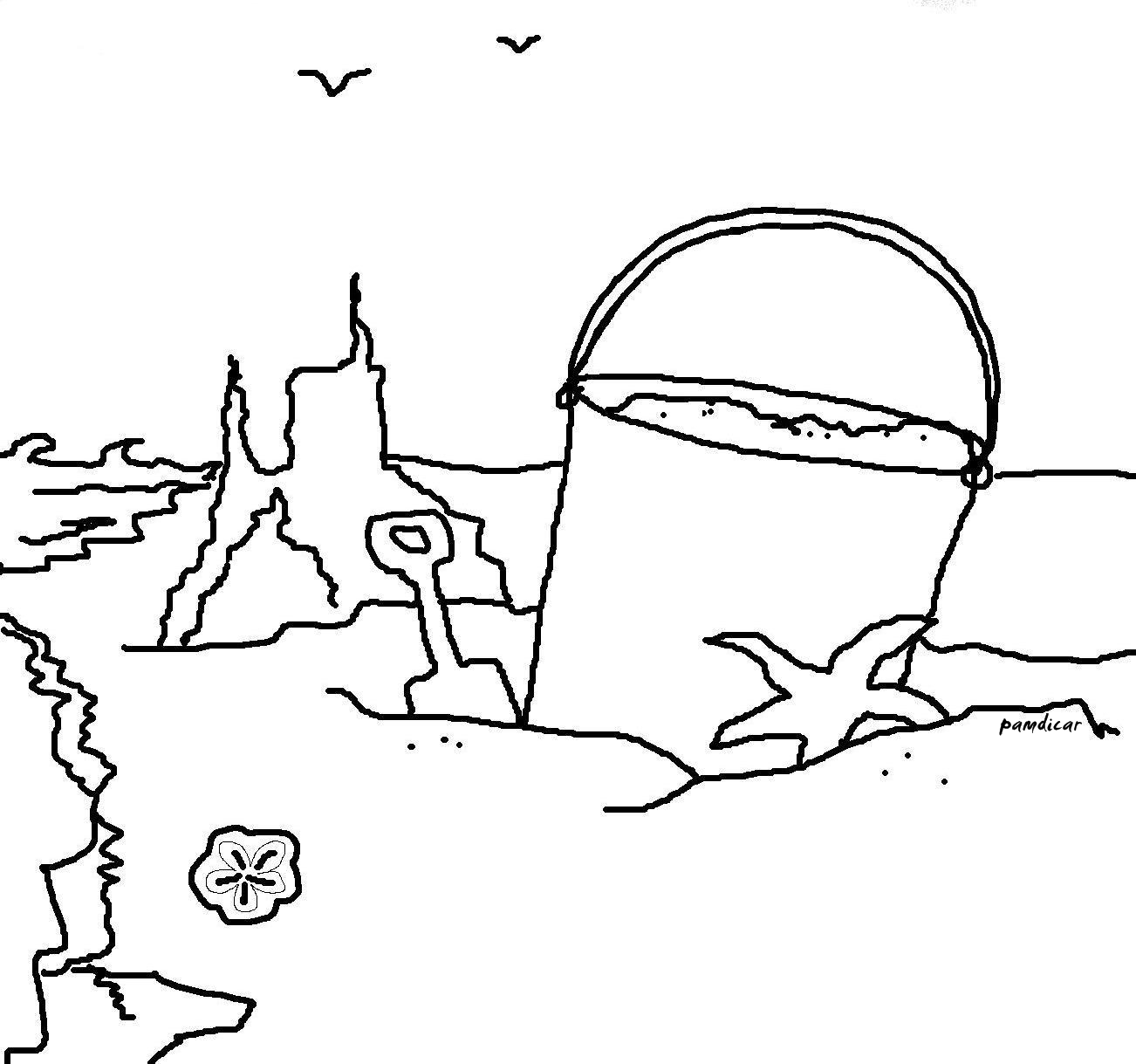 sand coloring pages - photo#23