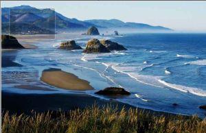 scenic ocean photography
