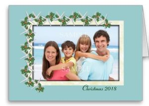 custom photo card for christmas
