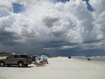 New Smyrna Beach storm building