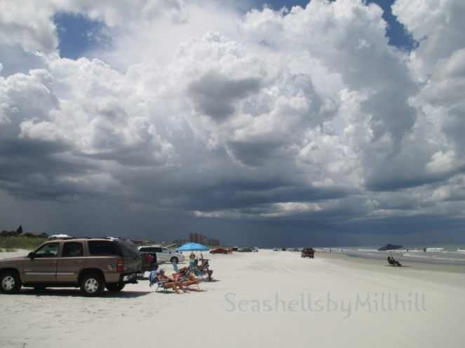 New Smyrna Beach storm building