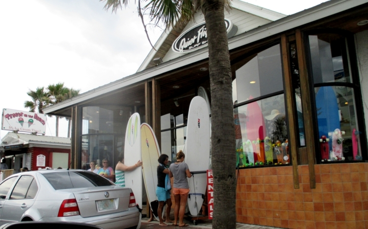 Quiet Flight surf shop