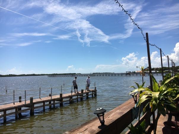 deck dock seaside restaurant