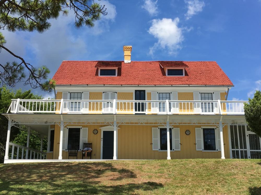 house structure seminole rest historic site