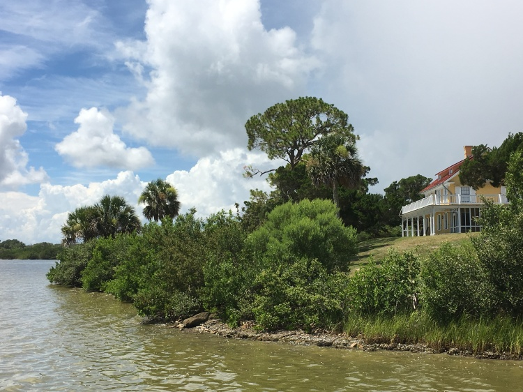 Instone house sits on the Indian River
