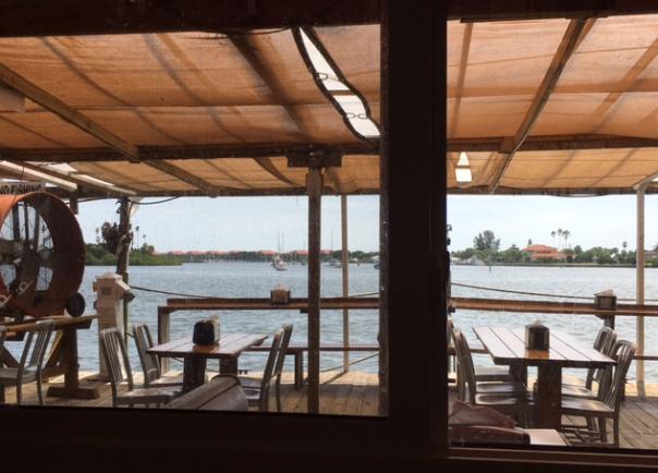 seafood restaurant deck
