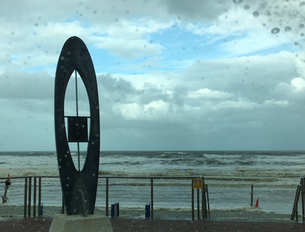 ocean after hurricane
