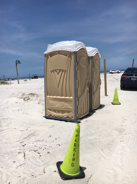 portable bathroom, porta-potty