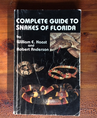 Florida snakes book