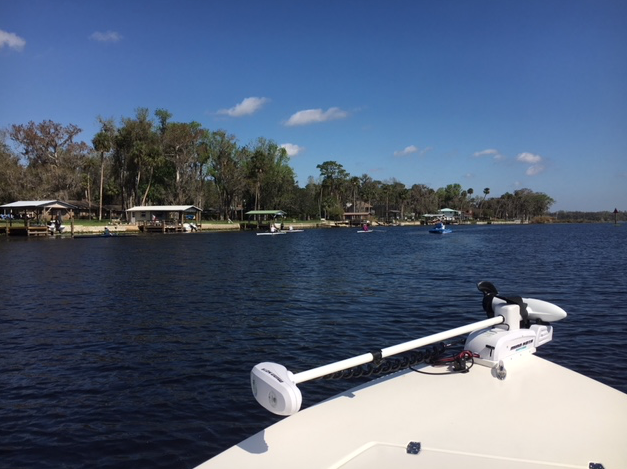 boating on the St. John's River