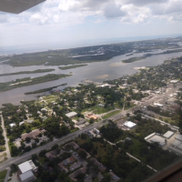 Aerial Photos of the Edgewater Florida Area