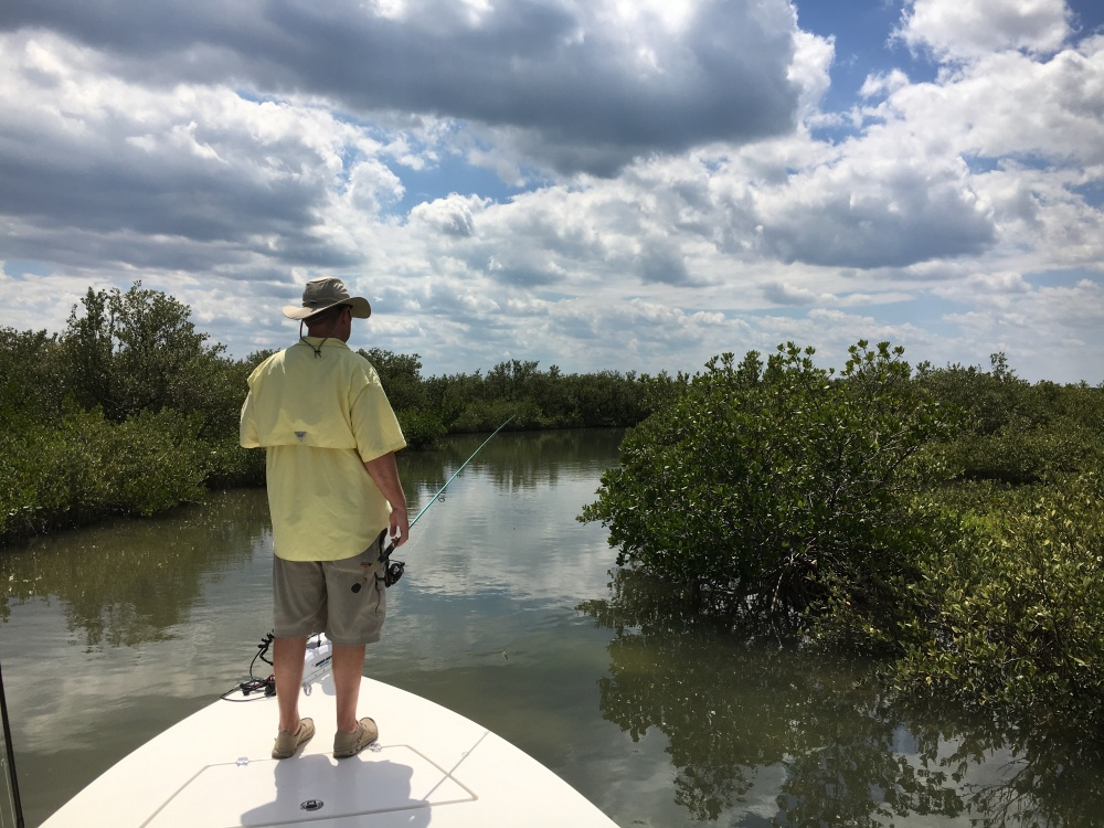 Fishing the backwater canals