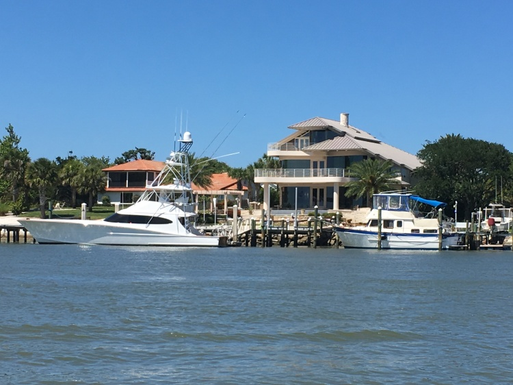 big homes yachts ICW