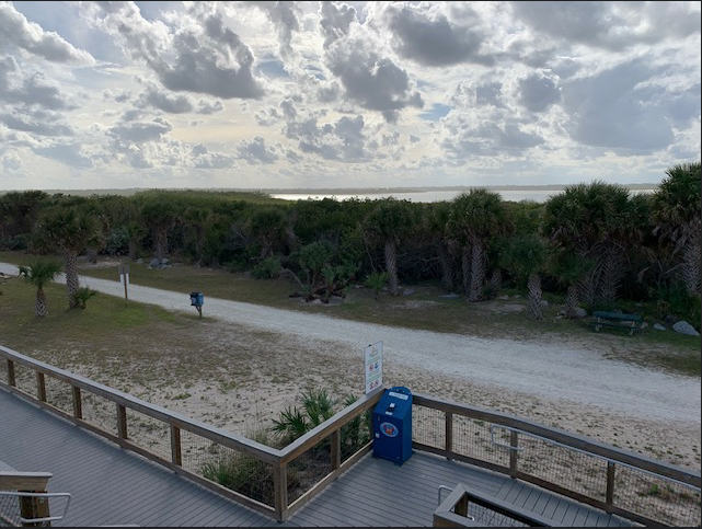 Smyrna Dunes Park view of ICW