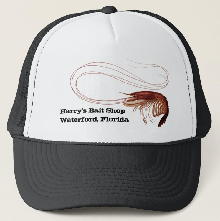 Shrimp business hat with custom text